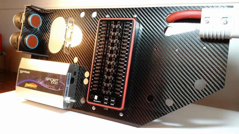 carbon fiber ecu electronics panel custom cluster. Black Bedroom Furniture Sets. Home Design Ideas