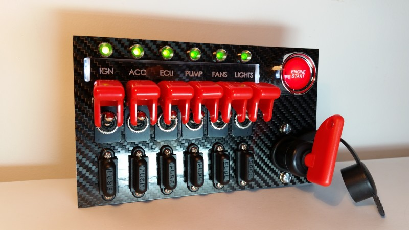 sx sx center switch panel custom cluster