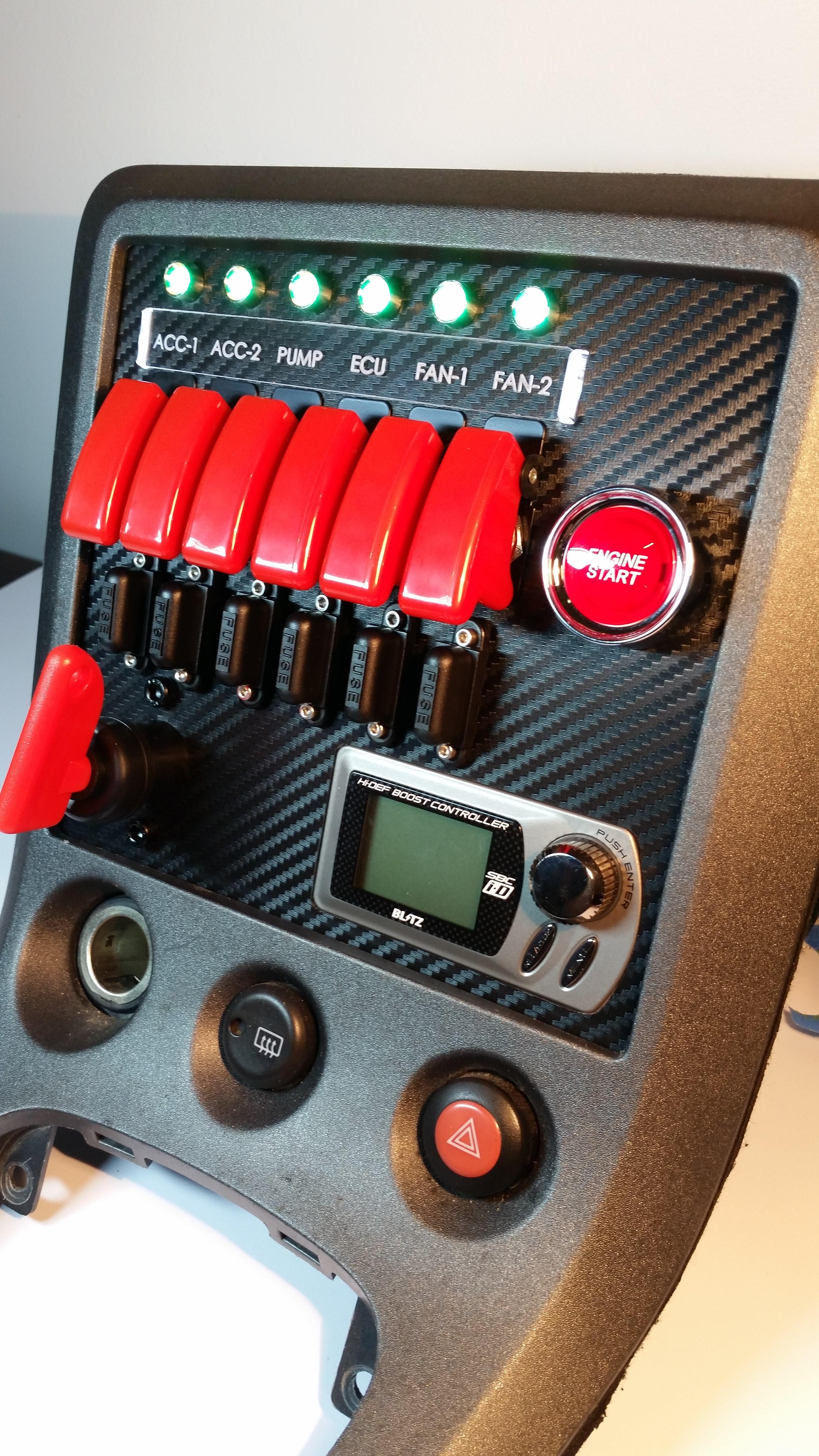S15 Switch Panel 2 ndash Custom Cluster Development
