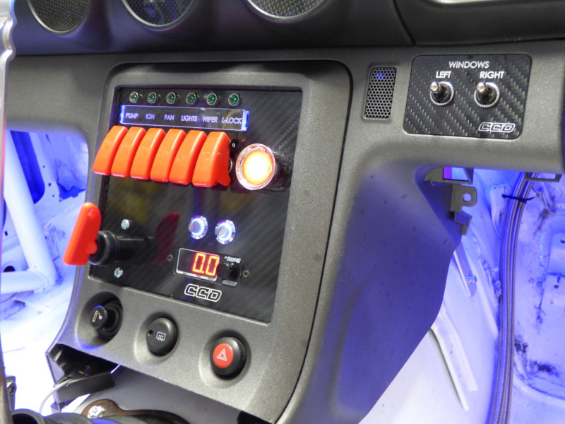 custom-cluster-development-s15-switch-panel-drift-2-800x600 Race Car Wiring Panel on pro stock, wire color choices for, wires pliers, parts west michigan, harness kit, external fuse box, nice neat, basic engine, made simple,