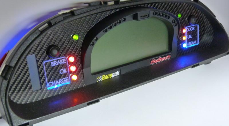 Racepak Custom Cluster Development