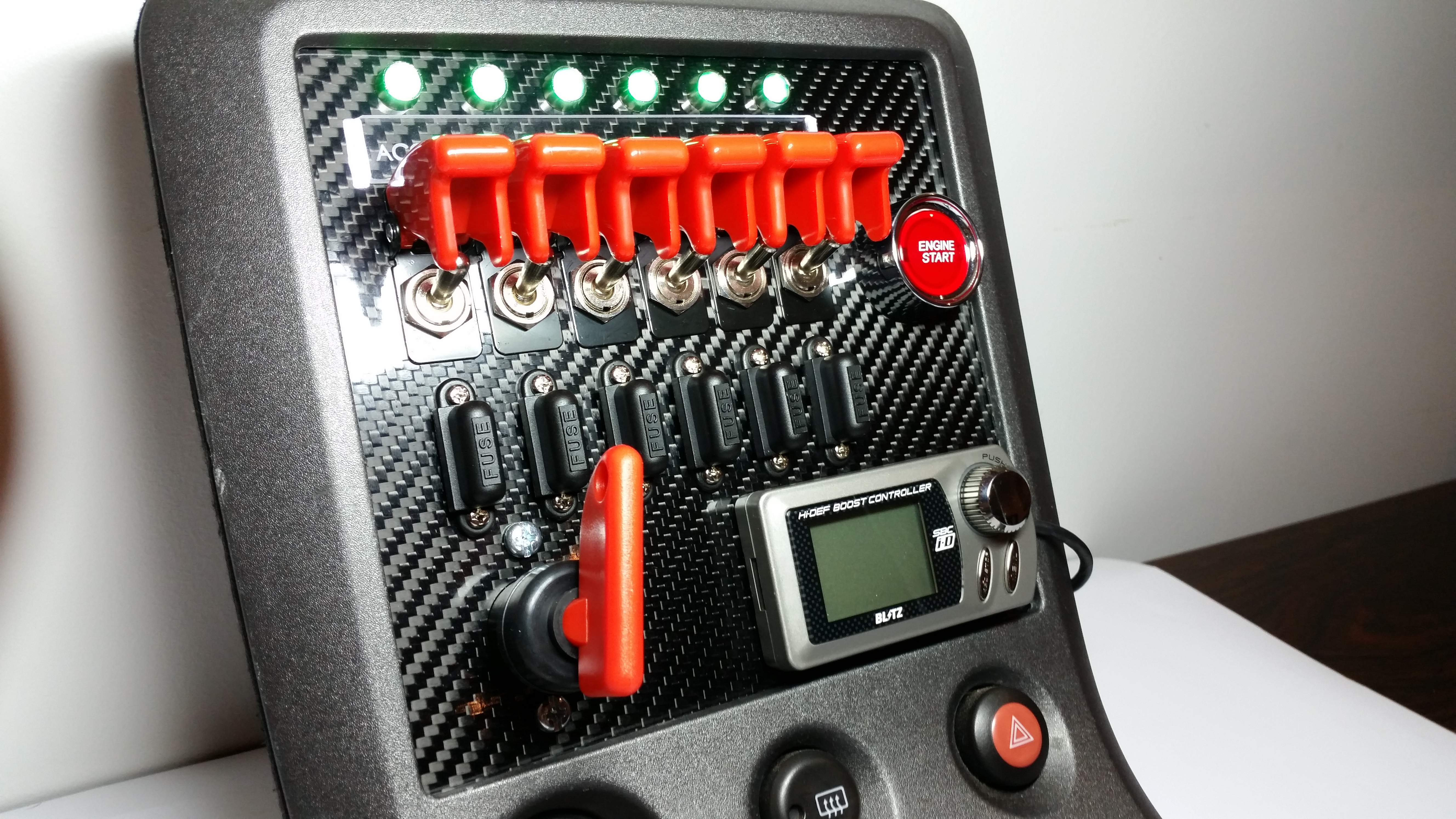 S15 Carbon Switch Panel ndash Custom Cluster Development